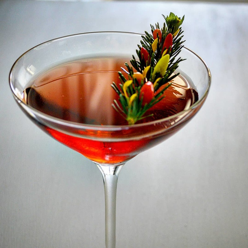 Full cherry pepper martini by melissa