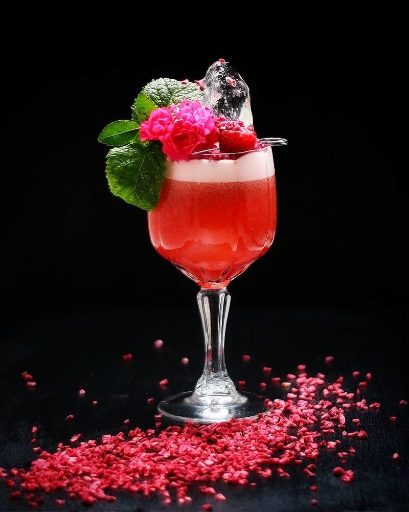 Full cocktail 4   raspberyy daiquiri