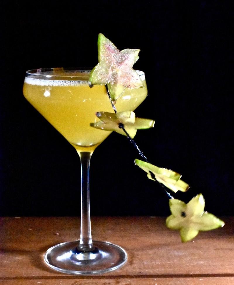 Full pornstarfruit martini