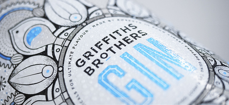 Full griffiths brothers gin