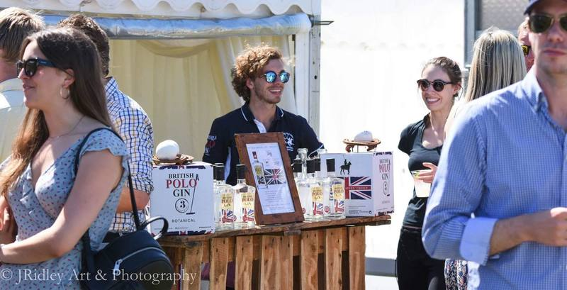Full british polo gin background