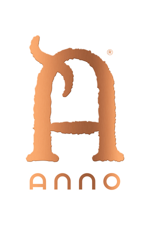 Anno logo copper white 3d 150