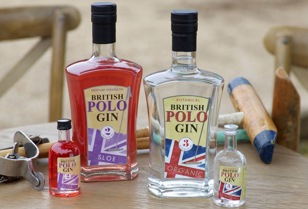 Polo gin bottles home