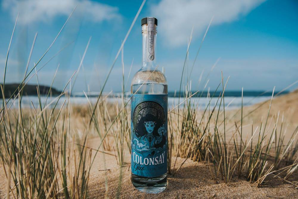 Colonsay gin wild thyme spirits