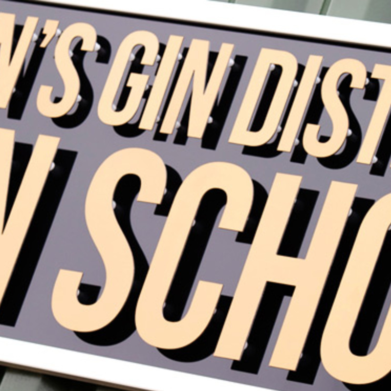 Square nelsons distillery school gin craftr craft spirits
