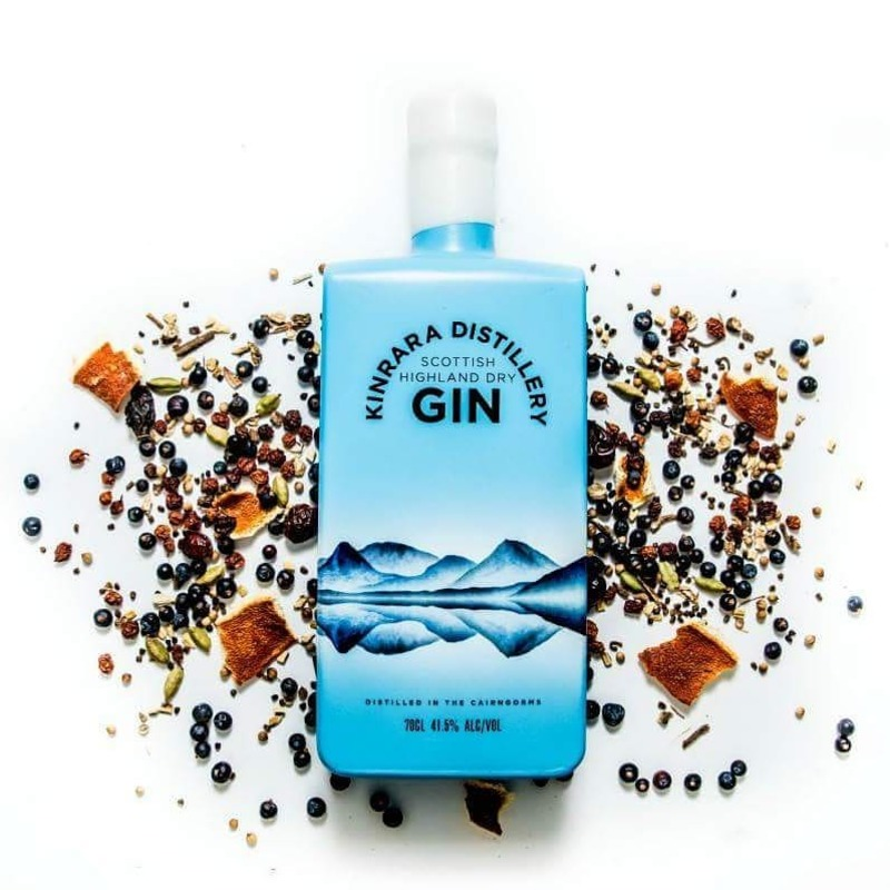 Full kinrara gin distillery bottle