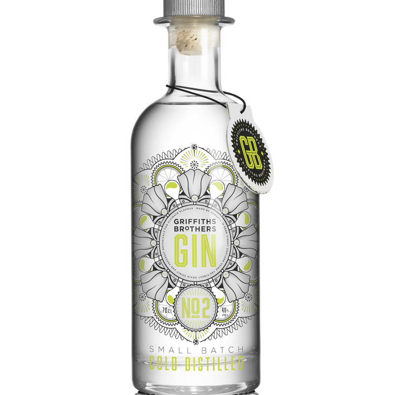 Full griffiths brothers no2 gin