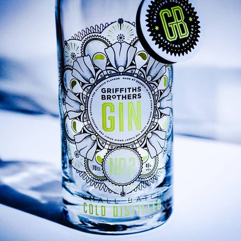 Full griffiths brothers gin no2