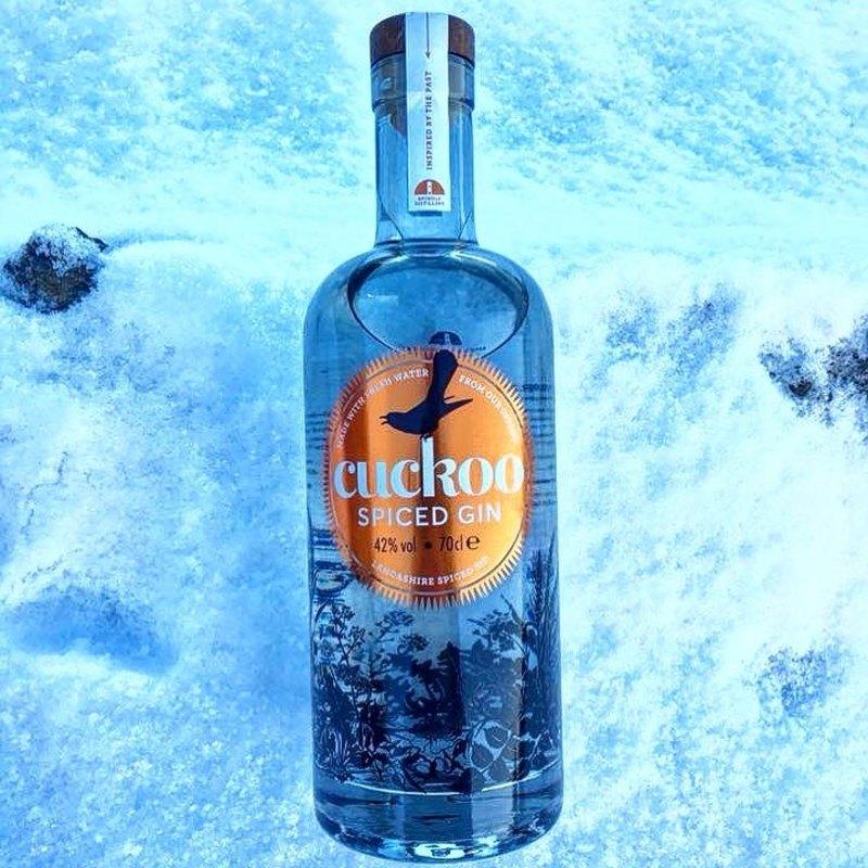 Full brindle cuckoo spiced gin