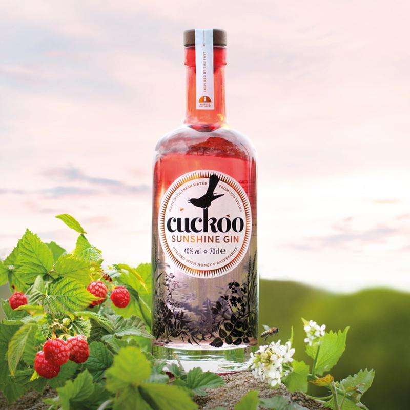 Full brindle cuckoo sunshine gin 1