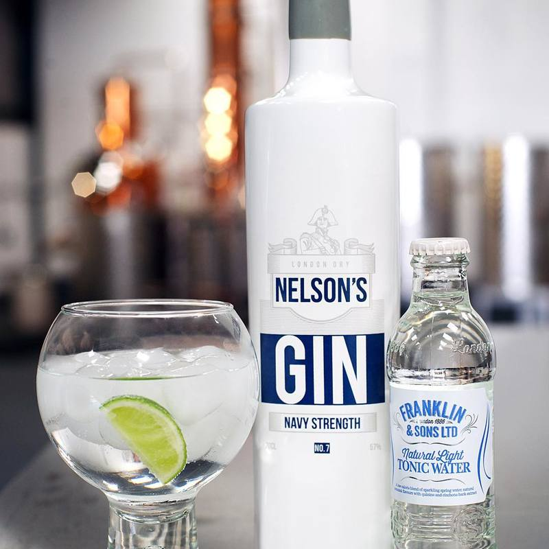 Full nelsons navy strength gin 2