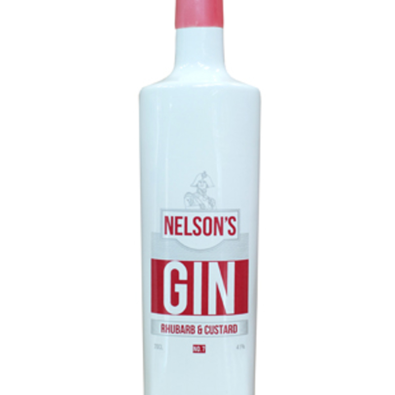 Full nelsons rhubarb custard gin craftr craft spirits