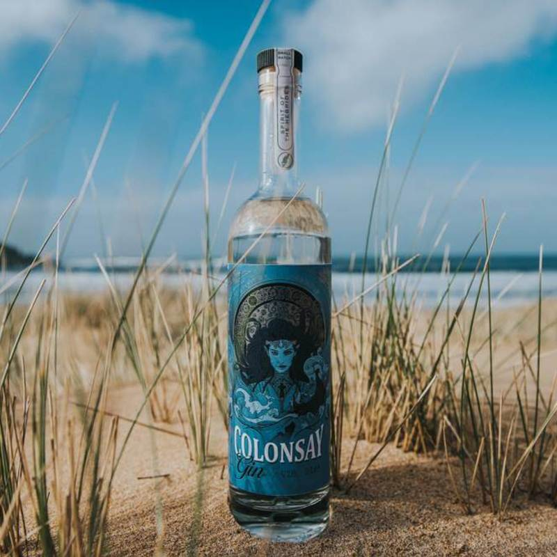 Full colonsay gin wild thyme spirits