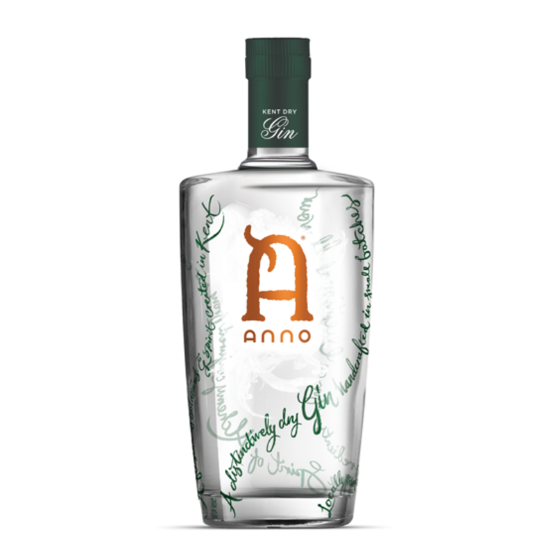Full anno kent dry gin primary