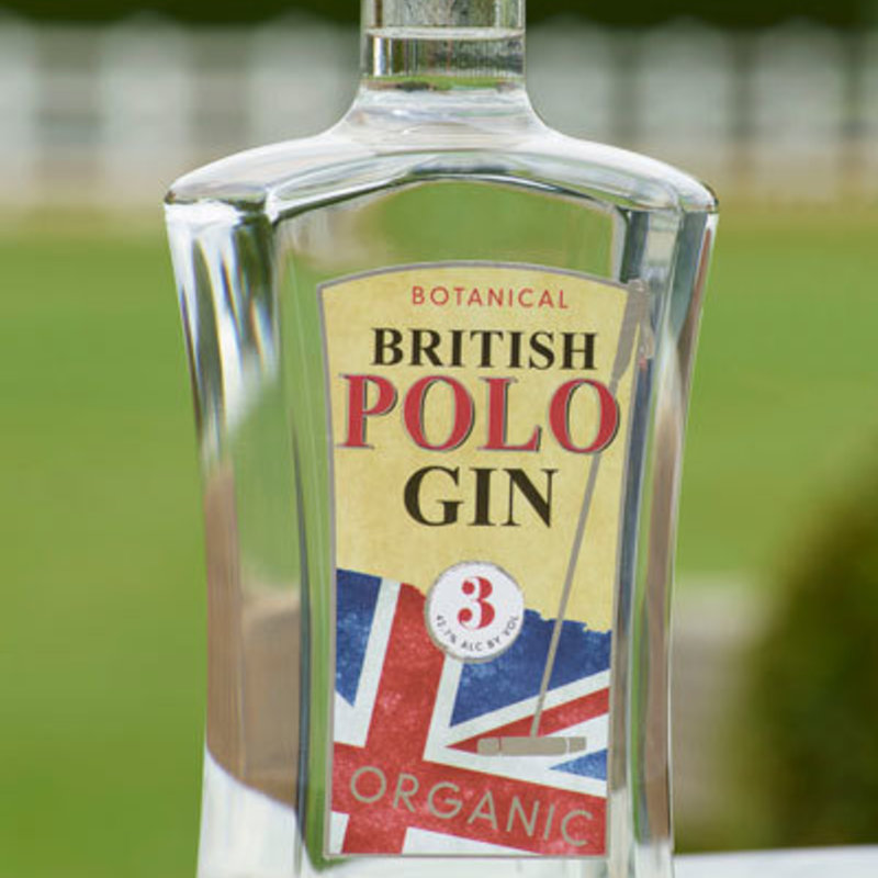 Full british polo gin organic gin