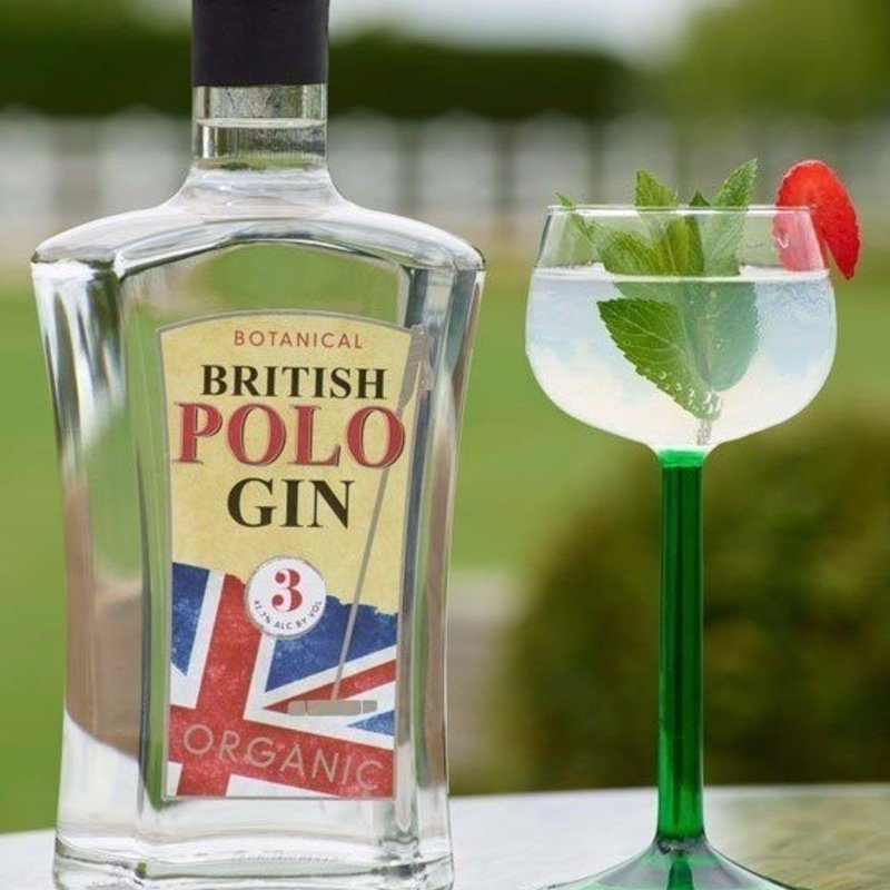 Full chukka cocktail british polo gin organic