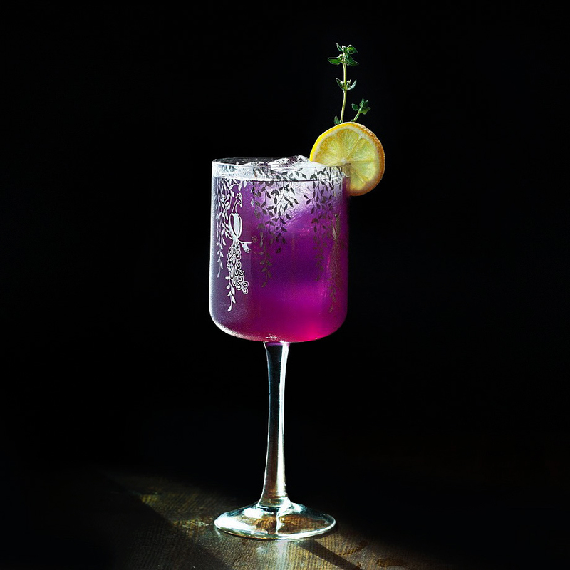Full blackcurrant lemonade